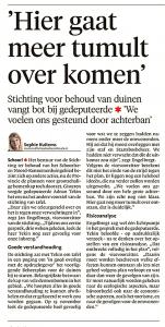 Alkmaarse Courant, 9 december 2017