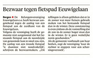 Alkmaarsae Courant, 18 januari 2018