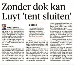 Helderse Courant, 22 januari 2018