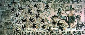 Ramses II in zijn strijdwagen (7)