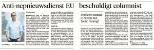 Noordhollands Dagblad, 20 januari 2018