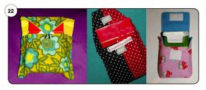 Abbildung 22 Selbstgemachte Taschen und Umverpackungen für Zigarettenschachteln