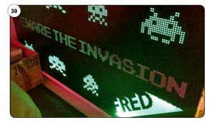 Abbildung 39 Space Invaders auf FRED-Reklametafel (