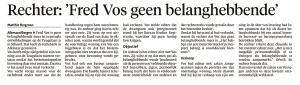 Alkmaarse Courant, 9 februari 2018