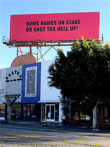 Sabo - Name names on stage or shut the hell up!