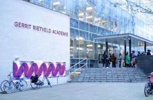 The Gerrit Rietveld Academie in Amsterdam (foto Gerrit Rietveld Academy)