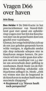 Helderse Courant, 7 maart 2018