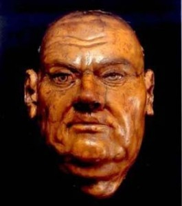 Death mask Luther (foto Tradition in Action)