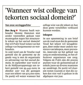 Helderse Courant, 6 maart 2018