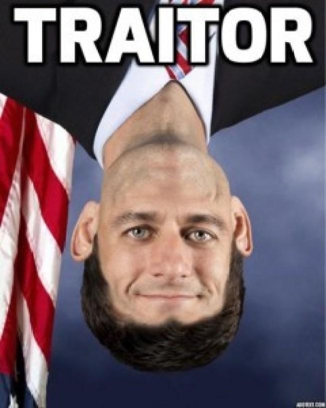 Traitor Paul Ryan (foto Before It's News)
