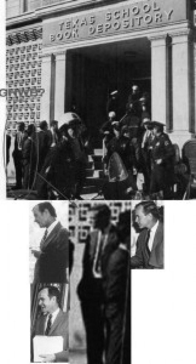 G.W. Bush in Deally plaza when JFK was gunned down 1 (foto Before It's News)