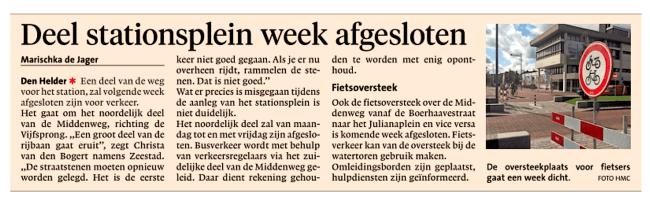 Noordhollands Dagblad, 8 september 2018