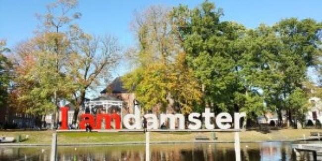 I amdamster (foto Dagblad van het Noord)