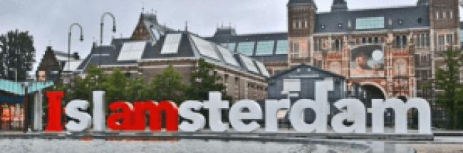 IslAMsterdam (foto Twitter)