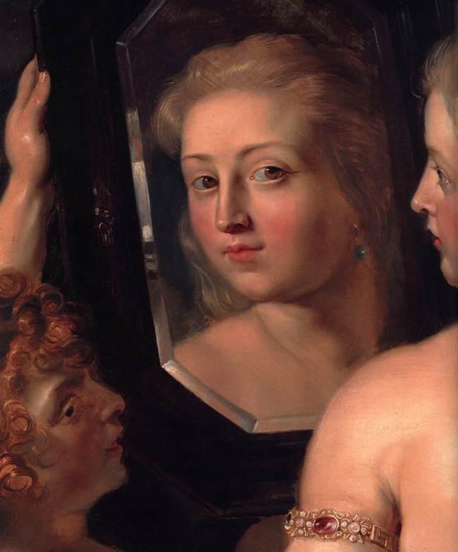 Pieter Paul Rubens - Venus at a Mirror (detail)