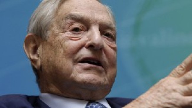 Soulless eyes of George Soros, who funds the operations of left-wing evil all across our planet (foto Before It's News)