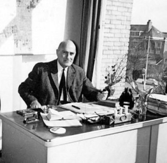 Jan Eldermans op zijn werkplek