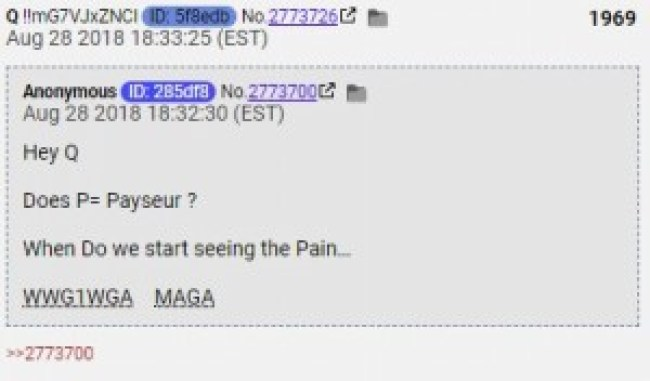Q post (Anonymous Conservative)