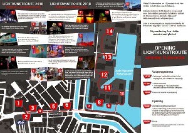 Citymarketing Den Helder - Lichtkunstroute 2018