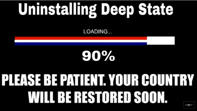 Uninstalling Deep State (SpaceShot76 29-9-18)