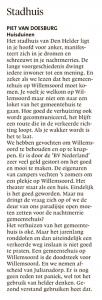 Helderse Courant, 2 februari 2019