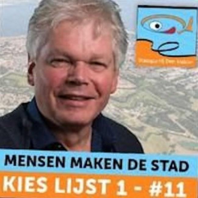 Ruud Wegman op Lijst 1 Stadspartij Den Helder (foto NHD)