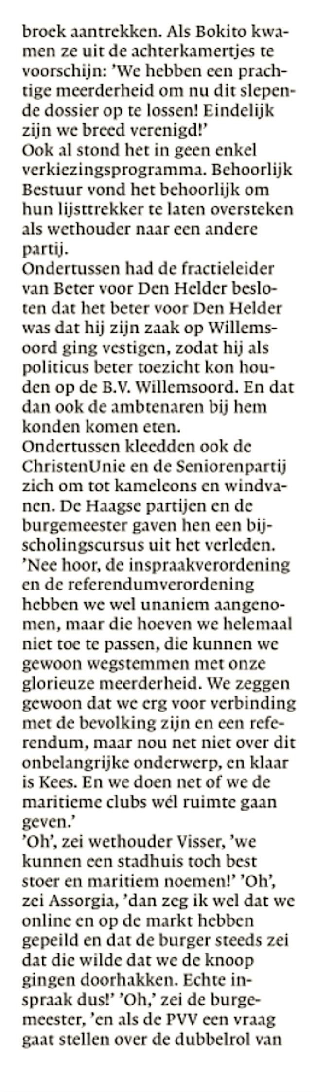 Helderse Courant, 11 mei 2019