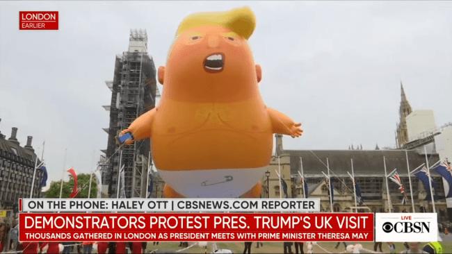 Baby Trump (foto CBSNews)