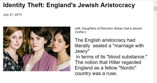 Identity Theft: England's Jewish Aristocracy (foto Niburu)