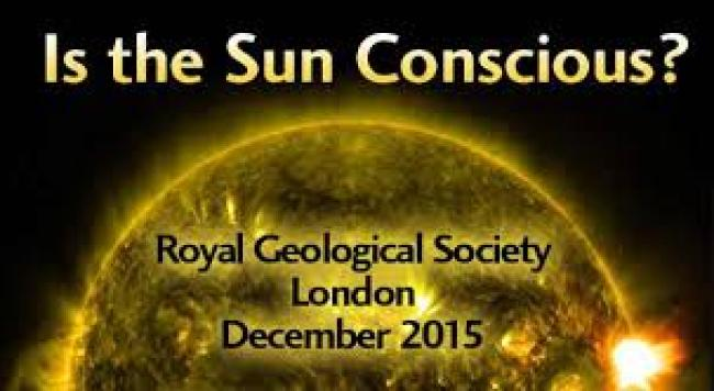 In 2015, world's top scientists gather in London to begin talks on growing evidence showing that the Sun may be conscious (foto What does It Mean)