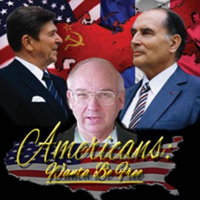 Wanta-Reagan-Mitterrand | Americans Wanta Be (foto Tom Heneghan)