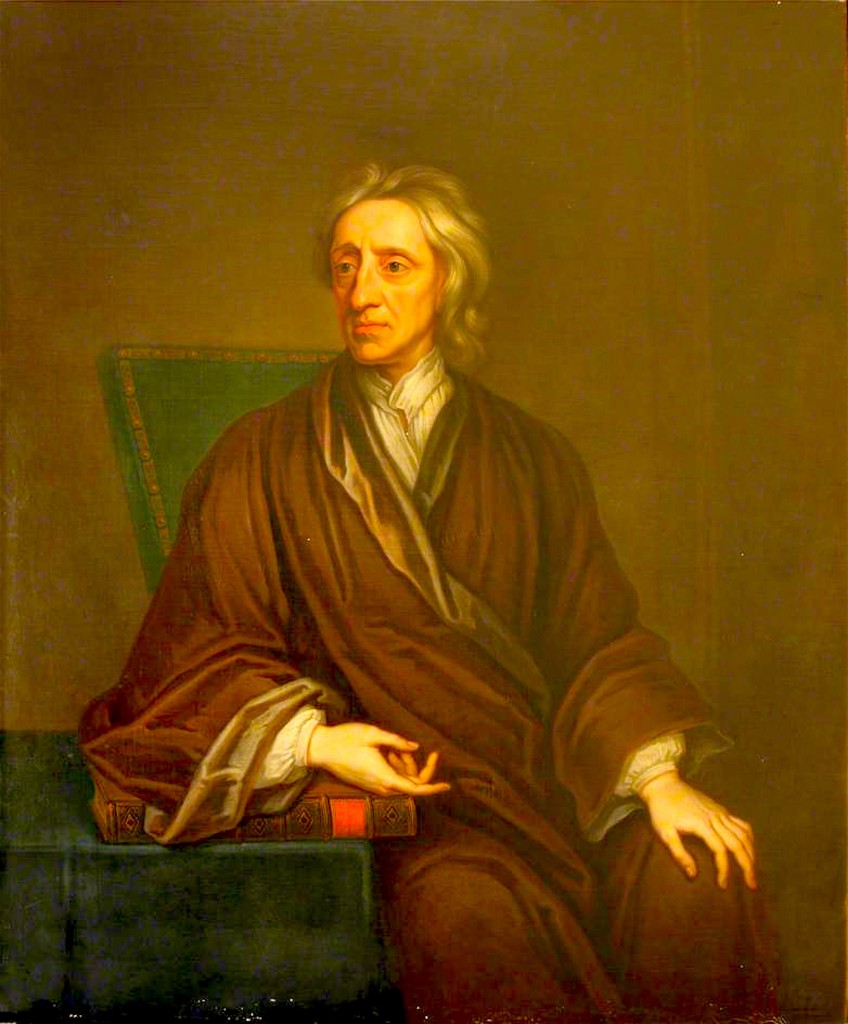 Thomas Gibson – Portrait of John Locke (foto Bodleian Libraries, University of Oxford)