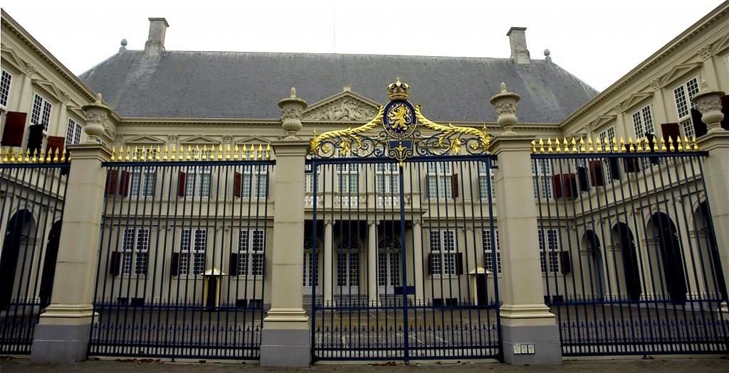Paleis Noordeinde, waar Nuffic ooit gehuisvest was (foto Marianne de Wit)