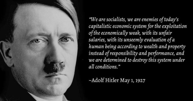 """We are socialists"""
