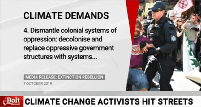 Climate Demands 4 (foto Sky News)