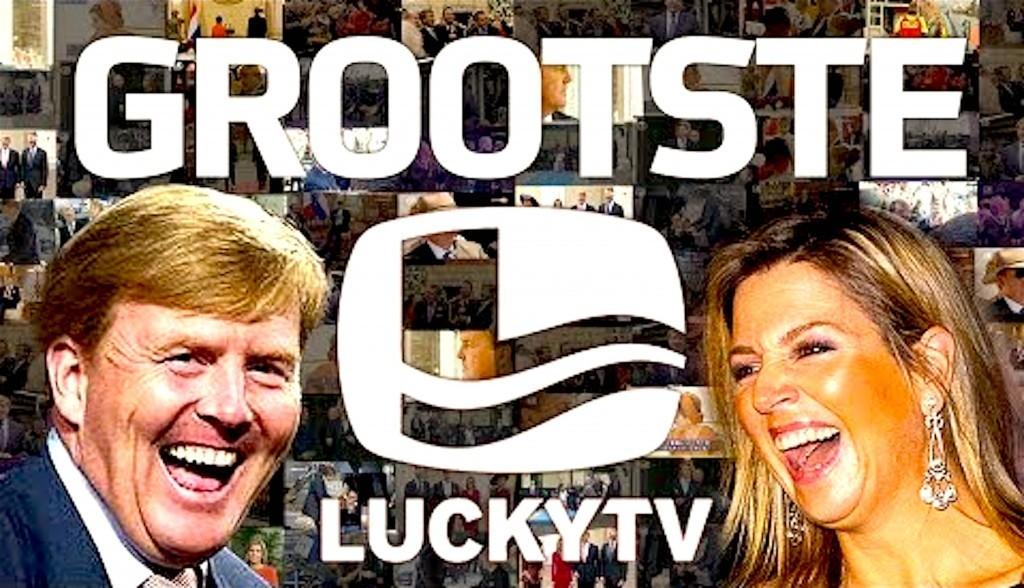 Grootste LuckyTV (foto YouTube)