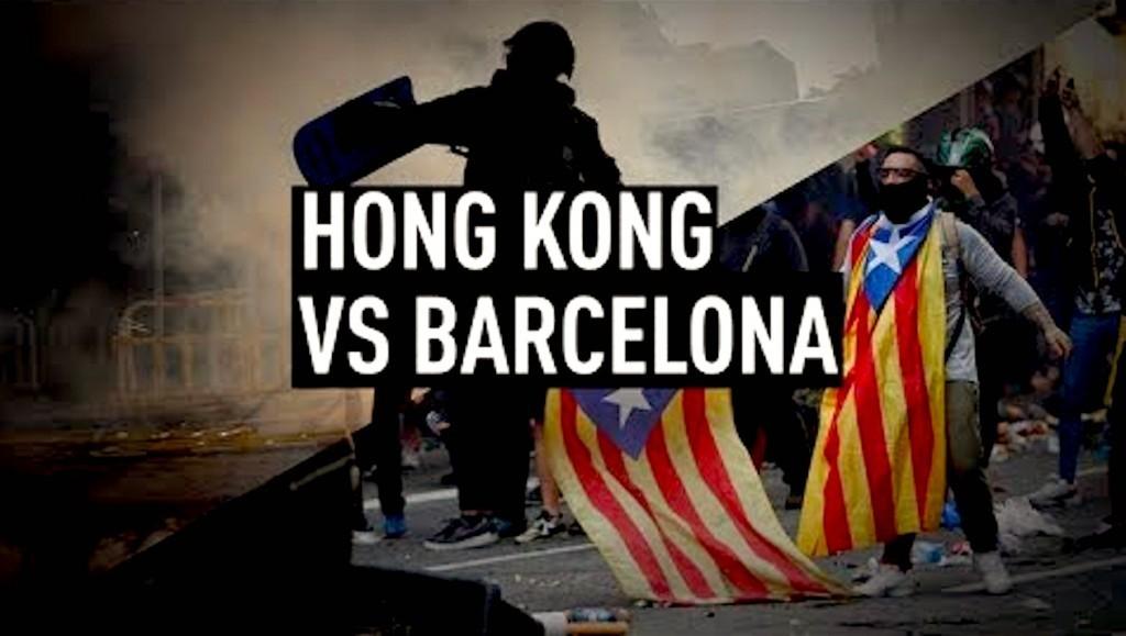 Hong Kong vs Barcelona (foto YouTube)