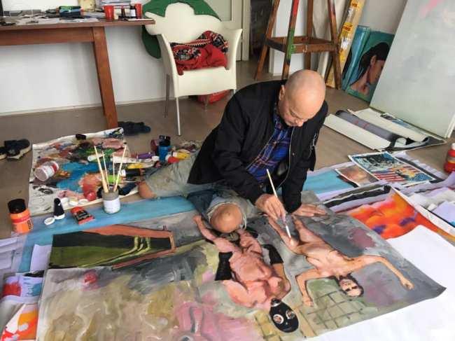 Petrus van de Klashorst - Working 1 (foto Facebook)