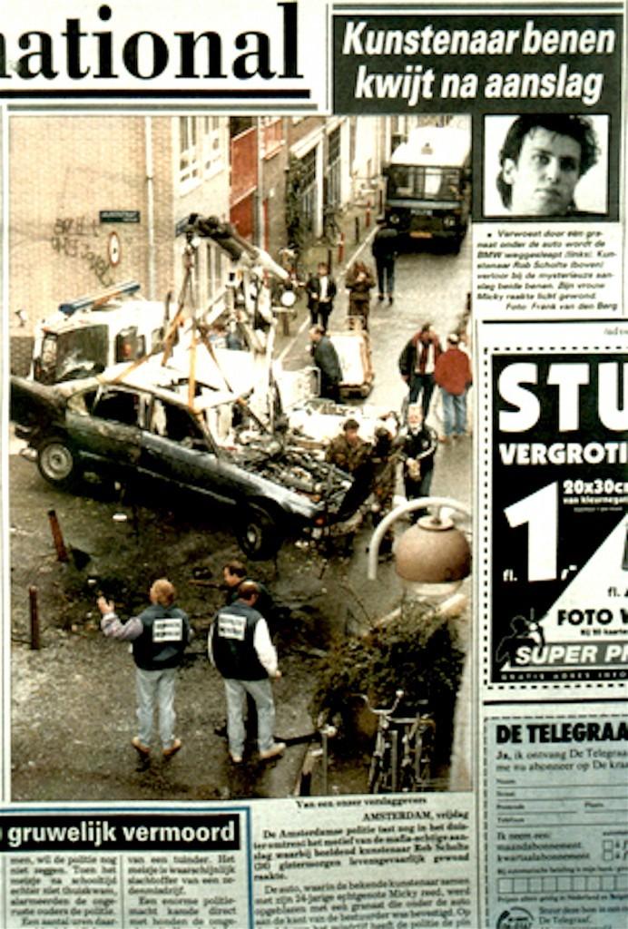 De Telegraaf, 25 november 1994 (detail)
