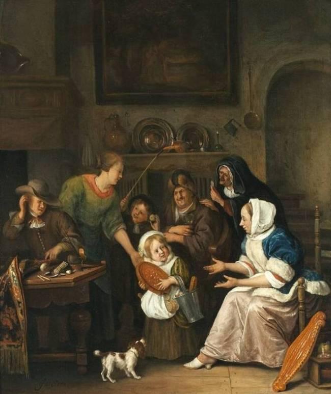 Jan Steen - Sint Nicolaas