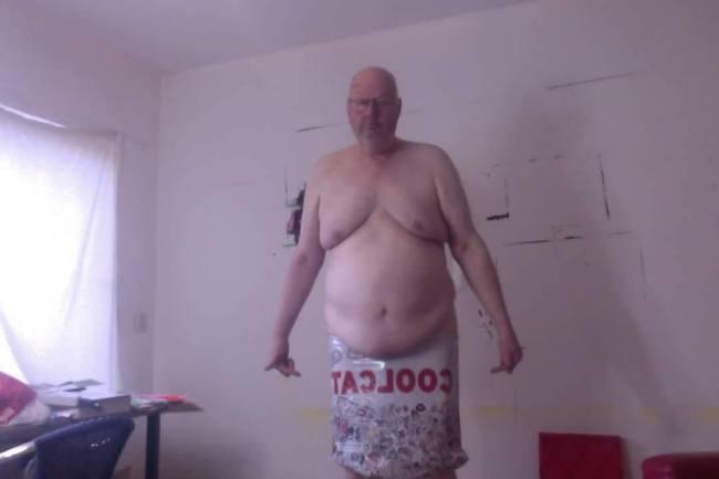 Joop Stoop, nog op gewicht (foto Facebook)