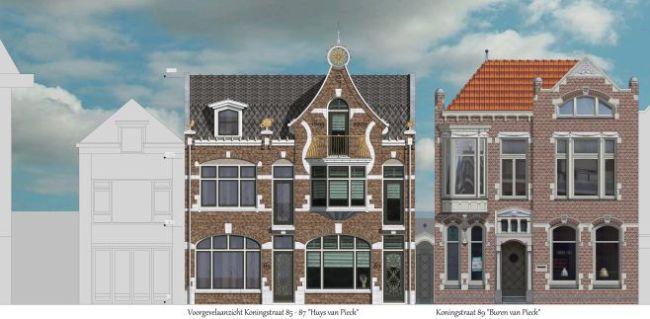 Koningstraat Den Helder wordt sprookjesachtig in de geest van Anton Pieck, maar 'het moet geen Efteling worden'