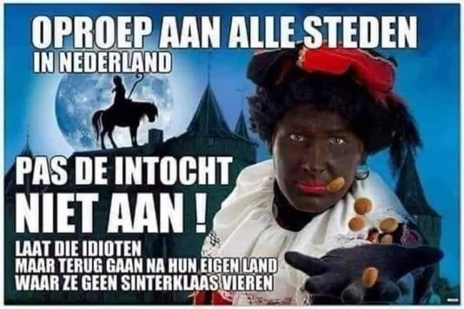 Oproep aan alle steden in Nederland: Pas de intocht niet aan (foto Facebook)