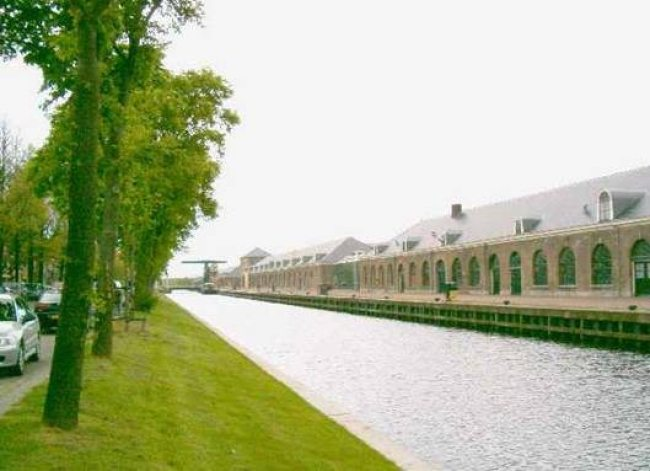 Rijkswerf aan de Westgracht nu (foto den Helder aan Zee)