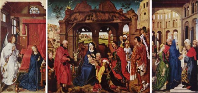 Roger de le Pasture - Kolumban Altar