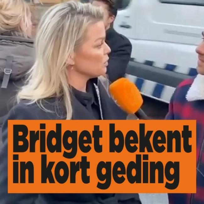 Bridget bekent in kort geding (foto DenD)