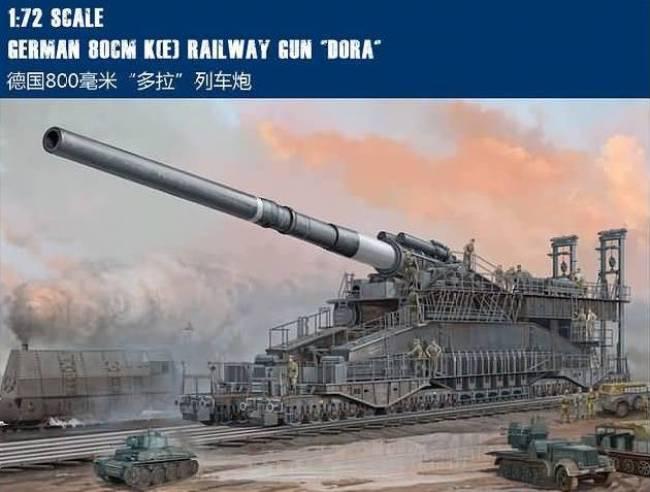 Dora, 80 cm. Railway Gun