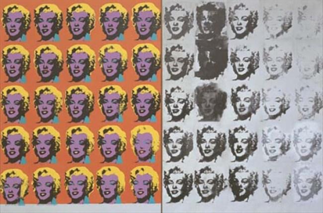 Elaine Sturtevant - Andy Warhol Dyptich, 1973