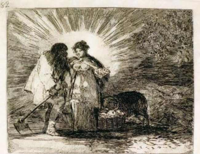 Francisco Goya - Esto es lo verdadero (This is the truth) (foto Wikimedia Commons)