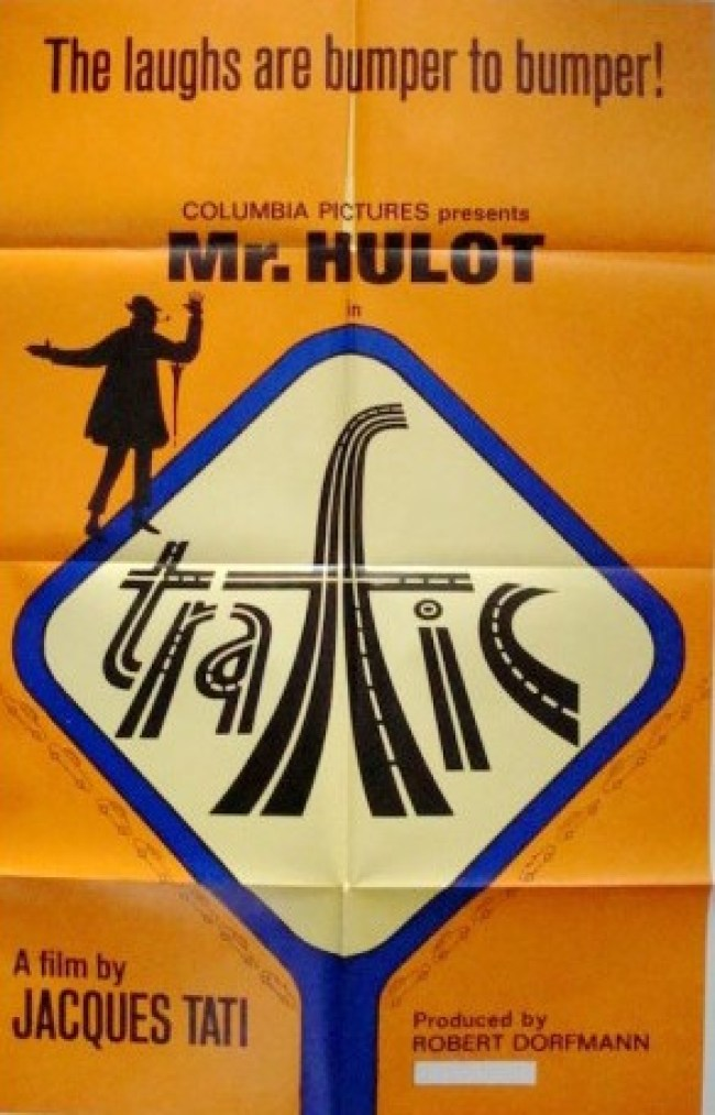 Jacques Tati - Trafic (foto Illustraction Gallery)